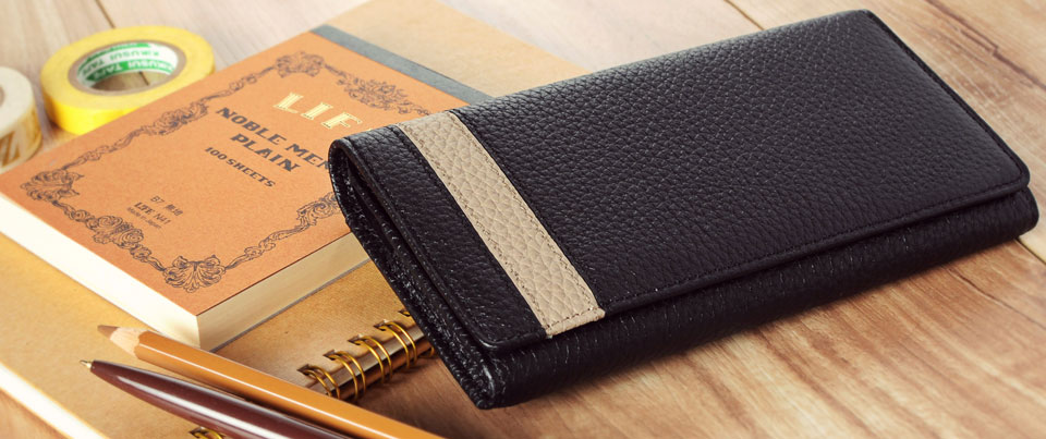 Murano Leather Holster Belt Clip Phone Case with Leather Striping