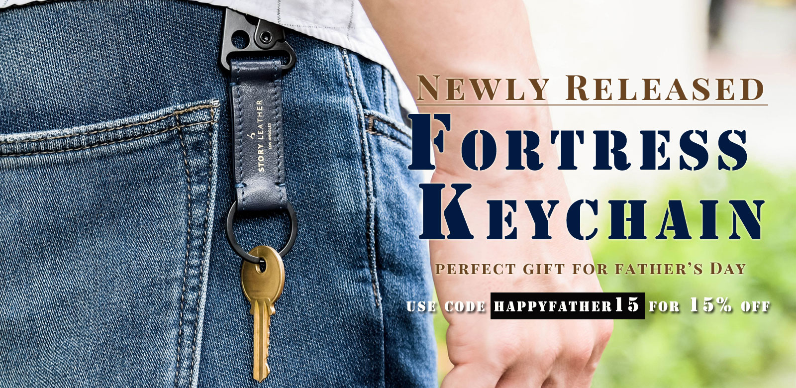 Fortress keychain for Father's Day