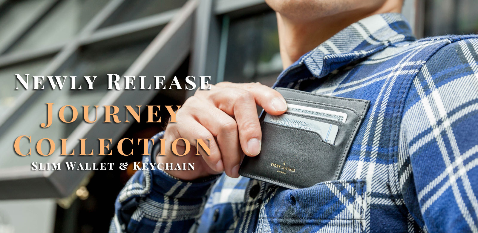 Journey Collection Now Available for Immediate Shipment - Slim Wallets & Keychains