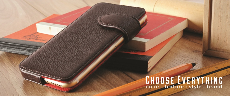 Custom made to order leather phone cases and holsters for your smartphone
