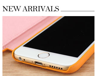 custom made to order leather cases, back covers, and holsters for the all new Apple iPhone 6 and 6 Plus