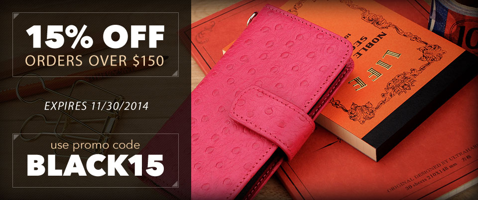 Save 15 Percent for the Holidays When Your Order is Over $150
