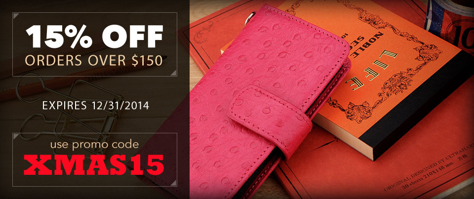 Save 15 Percent on Orders Over 150