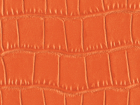 Orange Crocodile Pattern (A-138)
