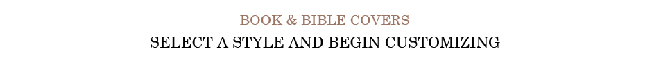 Book & Bible Covers