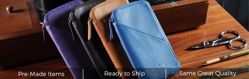 Dakota Leather Pockets