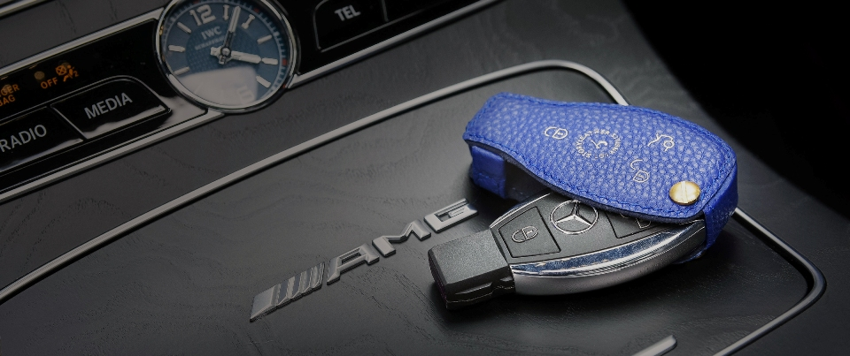 Custom Made Leather Key Cover for Your Car