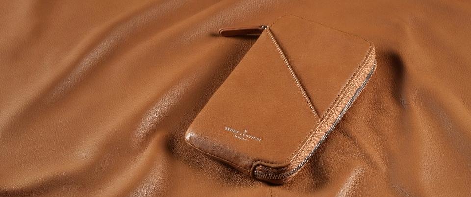 Blue Apple iPhone 7 Plus Leather Zipper Pocket Wallet