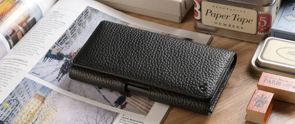 Black Apple iPhone 6 Leather Phone Holster Pouch Case with Belt Clip