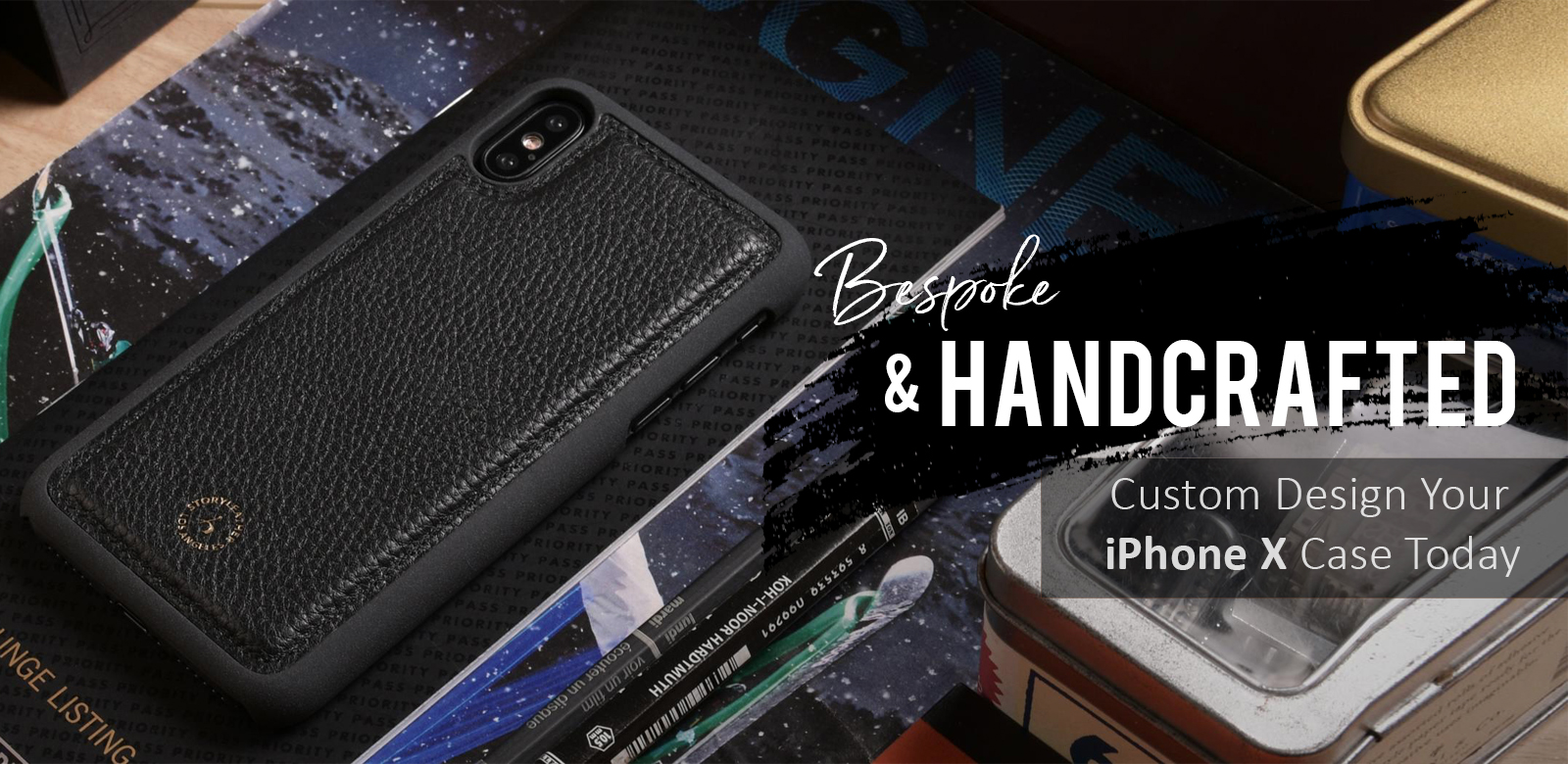 Bespoke and Handcrafted for Apple iPhone X - Custom Design Yours Now