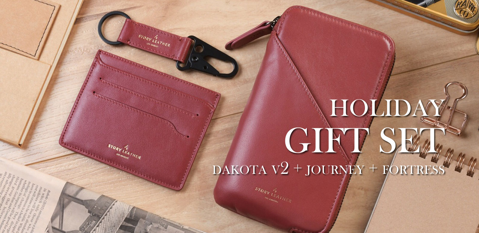 Start Your Holiday Shopping Now - Get the Dakota v2 Gift Set for 1 Great Price