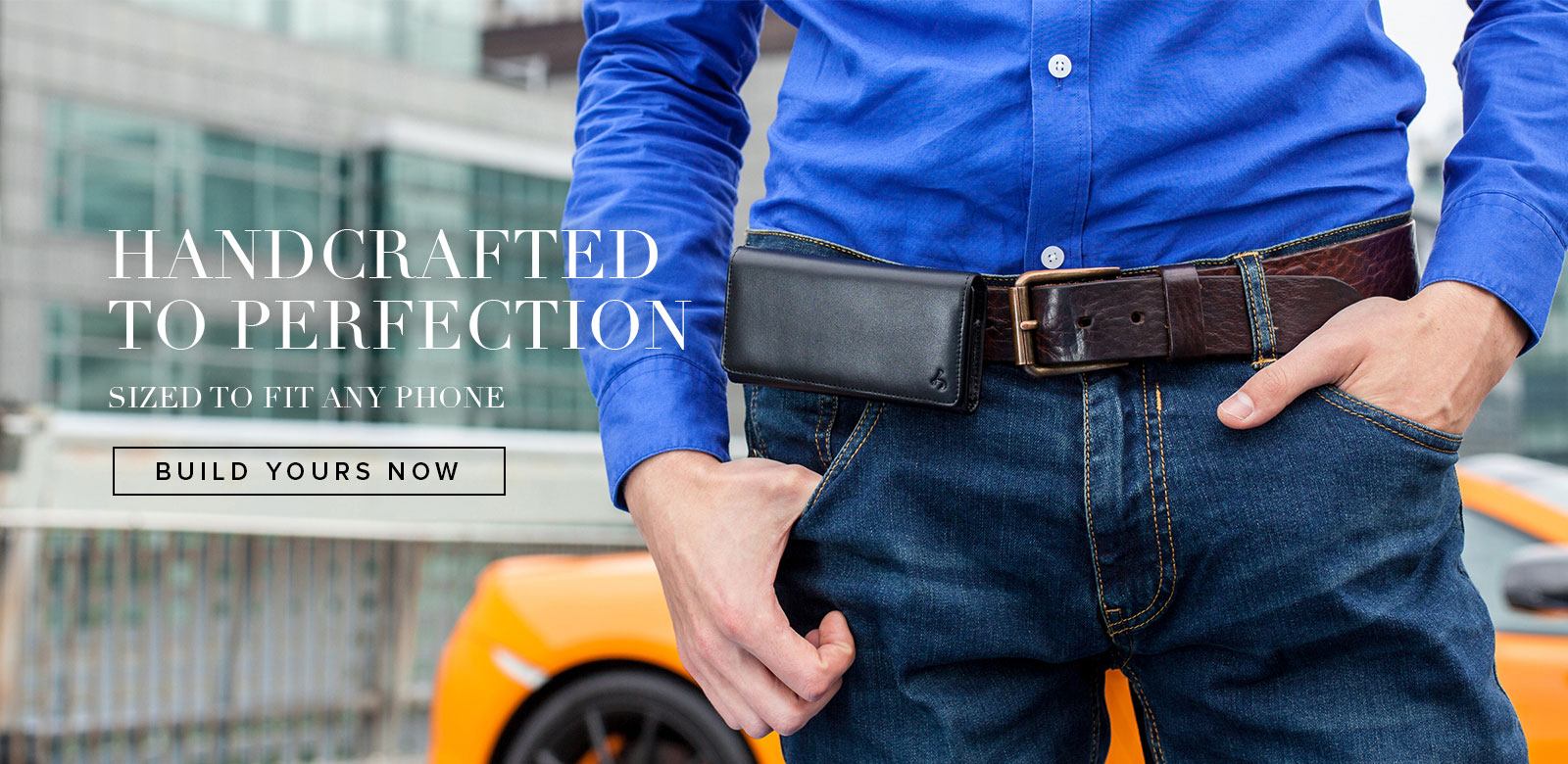 Genuine Leather Phone Holsters