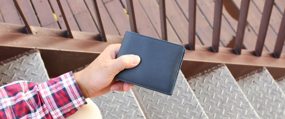 Custom made to order Leather Minimalist Wallet