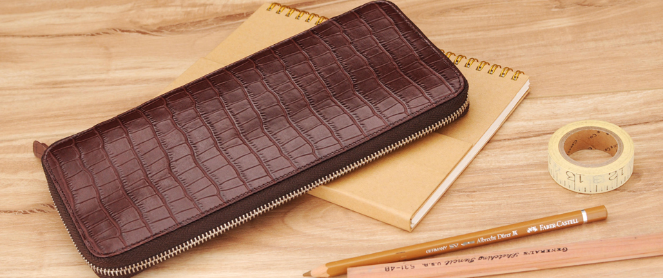 Custom made to order Leather Checkbook Cover