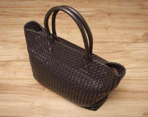Loren Woven Shoulder Bag