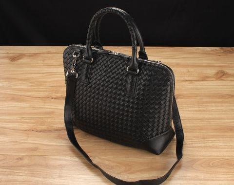 Madeleine Woven Top Handle Bag