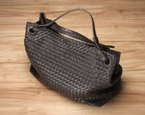 Anson Woven Shoulder Bag