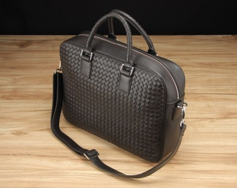 Crawford Woven Briefcase