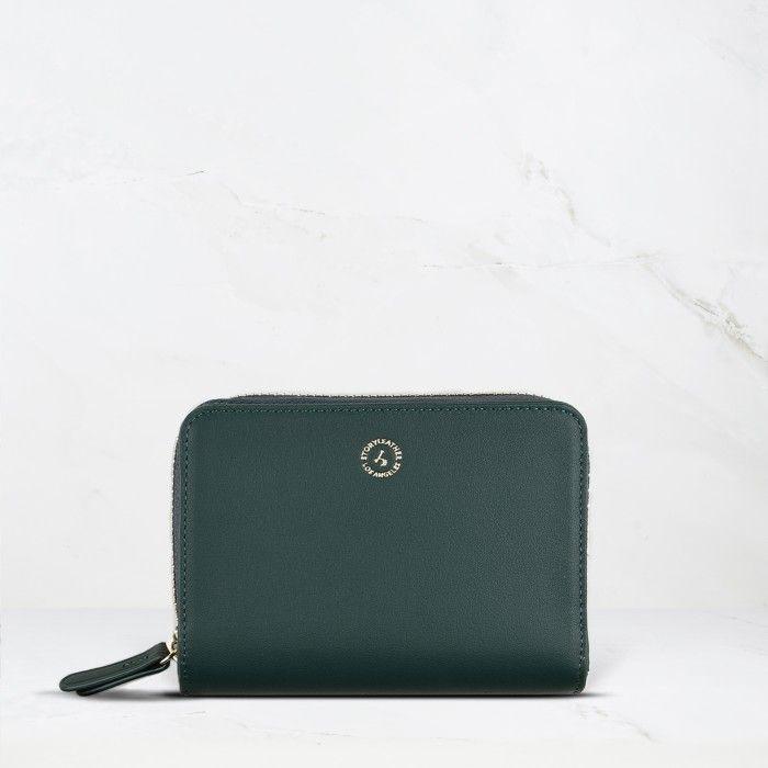Dark Green Calfskin