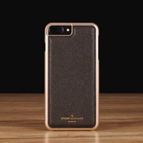 Coffee Saffiano / iPhone 7 Plus