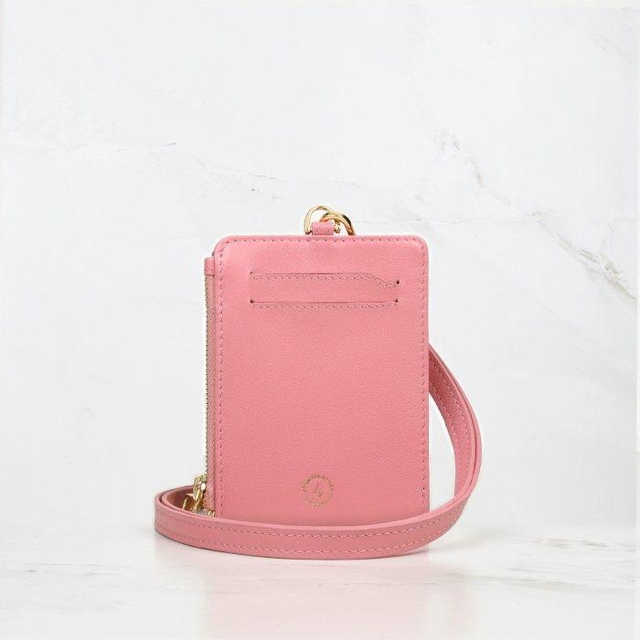 Blossom Pink Calfskin Leather