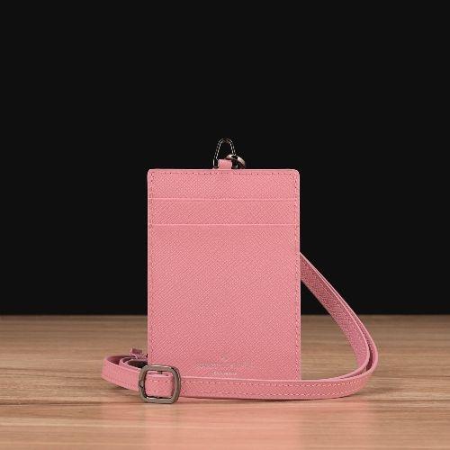 Pastel Pink Saffiano