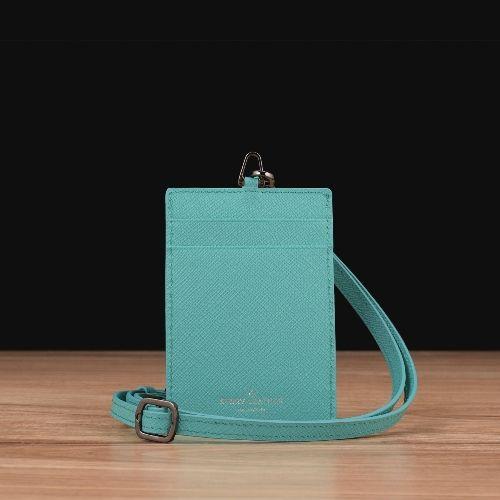 Turquoise Saffiano