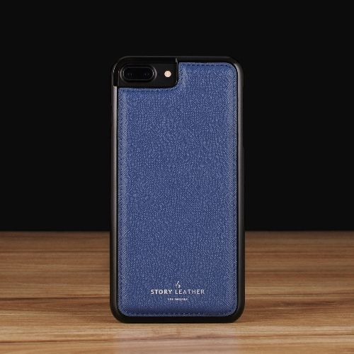 Blue Saffiano / iPhone 7 Plus