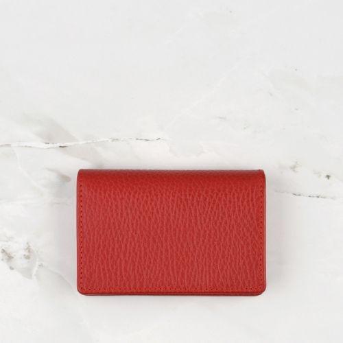 Crimson Red Pebble Grain