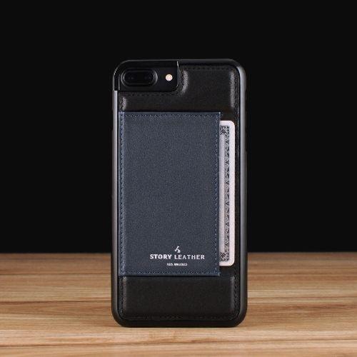 Black on Polo Blue / iPhone 7/8 Plus