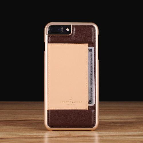 Mahogany on Latte / iPhone 7/8 Plus