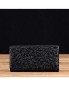 Black Pebble Grain Leather