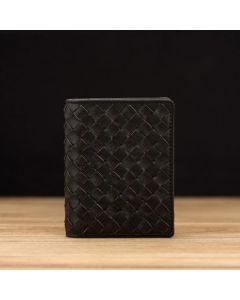 Woven Black Lambskin