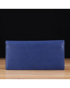 Blue Saffiano Leather