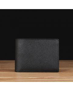 Black Saffiano Leather