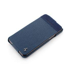 Royal Blue Samsung Galaxy S II - i9100 Hard Shell PDA-Style Down-Fold Leather Case