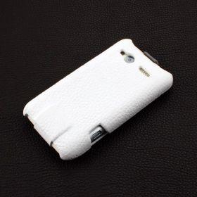HTC Radar Hard Shell PDA-Style Down-Fold Leather Case