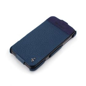 HTC Titan Hard Shell PDA-Style Down-Fold Leather Case
