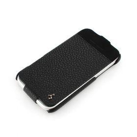 HTC Sensation XL Hard Shell PDA-Style Down-Fold Leather Case