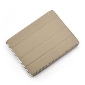 Smart Hard Back Leather Case for NEW iPad