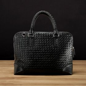 Woven Top Handle Bag