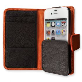 Folio Genuine Leather Wallet Phone Case