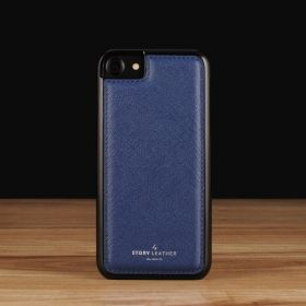 Blue Saffiano / iPhone 7(+) / 8(+)