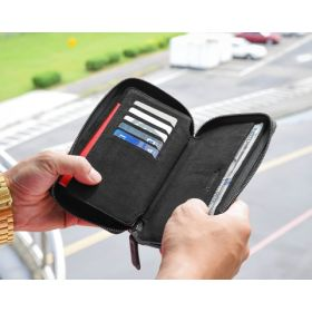 Zipper Travel Wallet