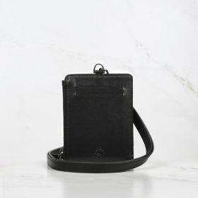 Black Calfskin Leather