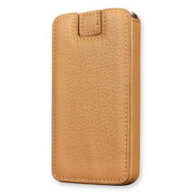 Boxxee Leather Phone Case with Pull Out Strap