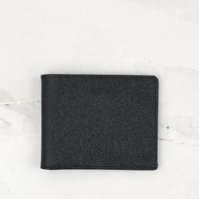 Black Cross Grain Leather