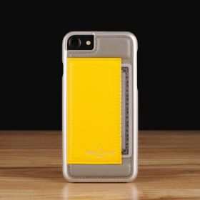 Grey on Yellow / iPhone 7(+) / 8(+)