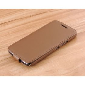 Down Flip Leather Case