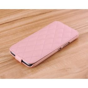Down Flip Quilted Leather Case
